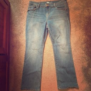 Old Navy Kicker Boot Cut Jeans